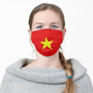 Vietnam Flag #2 Adult Cloth Face Mask