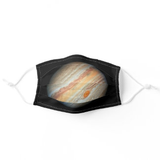 View of the Planet Jupiter (Hubble Telescope) Adult Cloth Face Mask