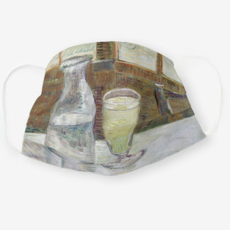 Vincent Van Gogh Cafe Table with Absinthe Adult Cloth Face Mask