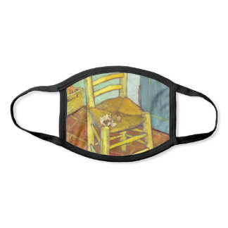 Vincent Van Gogh Chair with Pipe Face Mask