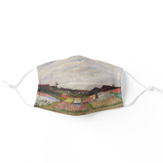 Vincent van Gogh - Flower Beds in Holland Adult Cloth Face Mask