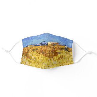 Vincent van Gogh - Harvest in Provence Adult Cloth Face Mask
