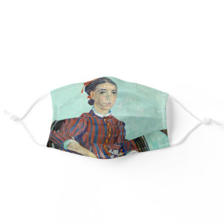Vincent van Gogh - La Mousme Adult Cloth Face Mask