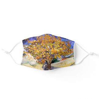 Vincent Van Gogh Mulberry Tree Fine Art Adult Cloth Face Mask
