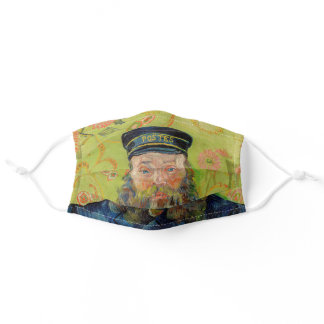 Vincent Van Gogh - Postman Joseph Roulin Adult Cloth Face Mask