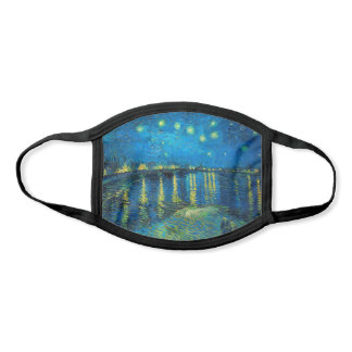 Vincent Van Gogh Starry Night Over The Rhone Face Mask