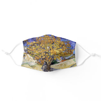 Vincent van Gogh - The Mulberry Tree Adult Cloth Face Mask