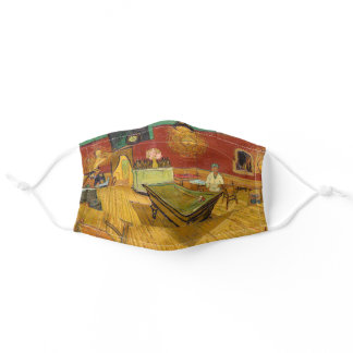 Vincent van Gogh - The Night Cafe Adult Cloth Face Mask