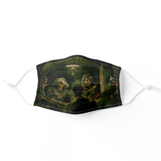 Vincent van Gogh - The Potato Eaters Adult Cloth Face Mask