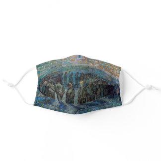 Vincent van Gogh - The Prison Courtyard Adult Cloth Face Mask