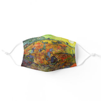 Vincent van Gogh - The Red Vineyards Adult Cloth Face Mask