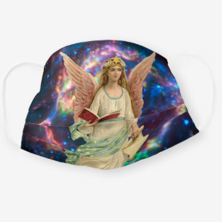 Vintage Angel in Heaven Cloth Face Mask