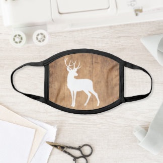 Vintage Beauty Wood & Deer Face Mask