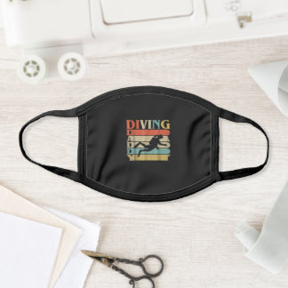 Vintage Diving Sport Competition Martial Art Gift Face Mask