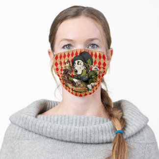 Vintage Wonderland Characters Adult Cloth Face Mask