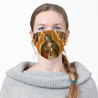 Virgin de Guadalupe Reusable Washable Mask