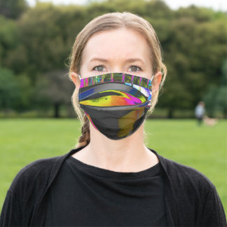 Vivid Coffee Cup Adult Cloth Face Mask