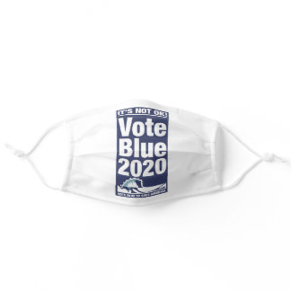 Vote Blue To Save America Adult Cloth Face Mask