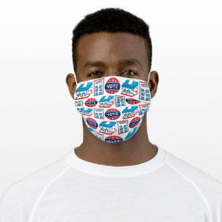 VOTE November 2020 Election Day USA Voting Adult Cloth Face Mask
