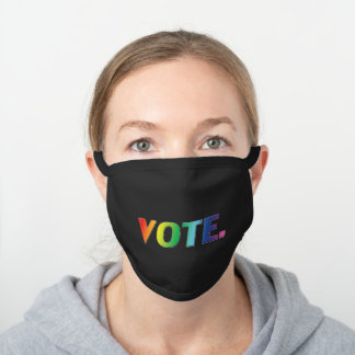 vote - white / black / colors - Face Mask