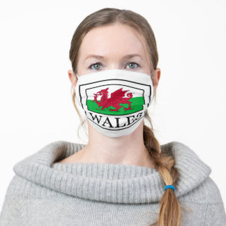 Wales Adult Cloth Face Mask