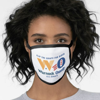 Warnock Ossoff Flip the Senate Face Mask