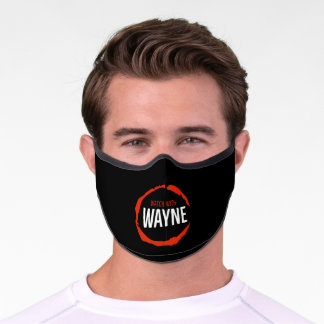 WATCH WITH WAYNE Face Mask