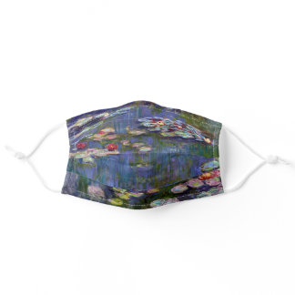 Water Lily Pond, Monet Adult Cloth Face Mask