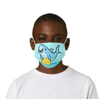 "Water Polo Shark kid""s face mask"