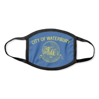 Waterbury, Connecticut City Flag Face Mask