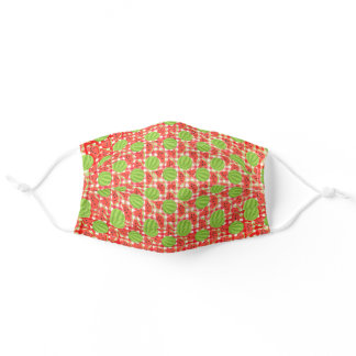 Watermelons on Gingham Adult Cloth Face Mask