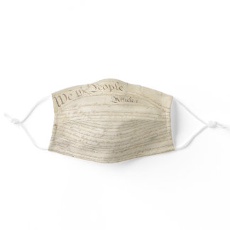 We the People Congress Constitution USA Adult Cloth Face Mask