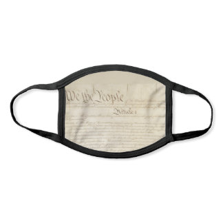 We the People Congress Constitution USA Face Mask