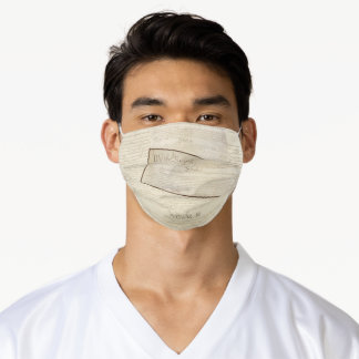 We the People Constitution Articles I II III Adult Cloth Face Mask