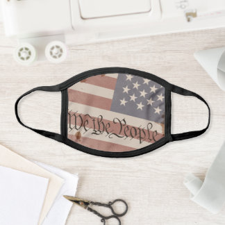 We The People Constitution of The USA Face Mask