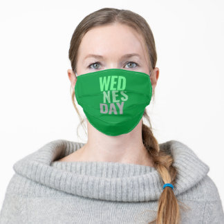 Wednesday Adult Cloth Face Mask