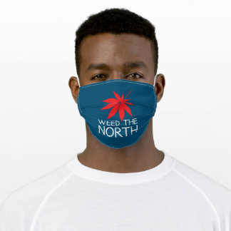 Weed the North Blue Adult Cloth Face Mask