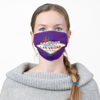 Welcome to Fabulous Las Vegas Adult Cloth Face Mask