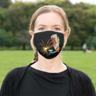 Welder Welding Adult Cloth Face Mask