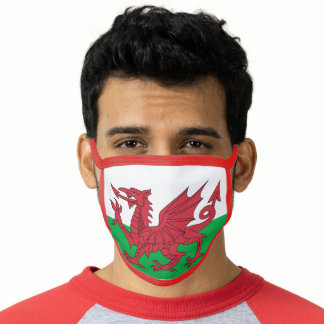 Welsh Flag Face Mask