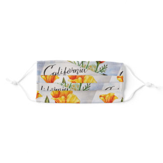 We're All In This Together California Poppy Adult Cloth Face Mask