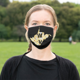 WEST VIRGINIA ADULT CLOTH FACE MASK