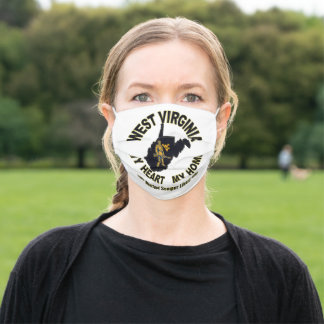 WEST VIRGINIA MOUNTAINEER FACE MASK