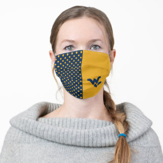 West Virginia | Polka Dot Pattern Adult Cloth Face Mask