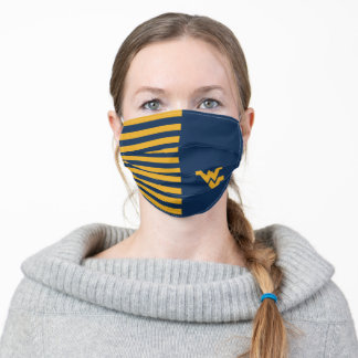 West Virginia | Stripes Pattern Adult Cloth Face Mask