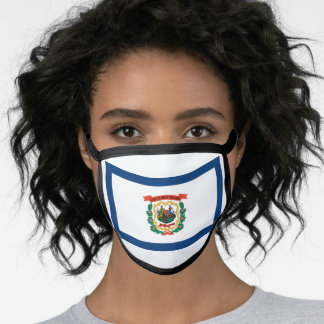 West Virginian flag, American state flag Face Mask