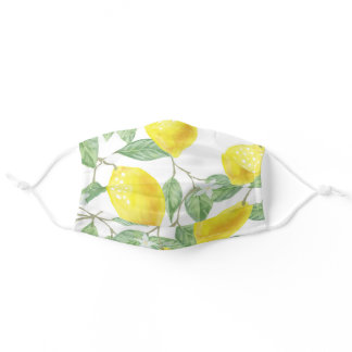 When Life Gives You Lemons Adult Cloth Face Mask