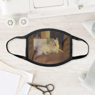 White German Shephard Mask