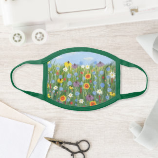 Wildflowers Face Mask