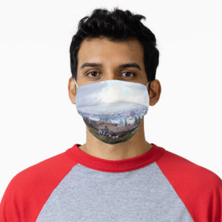 William James Bennett Baltimore from Federal Hill Adult Cloth Face Mask
